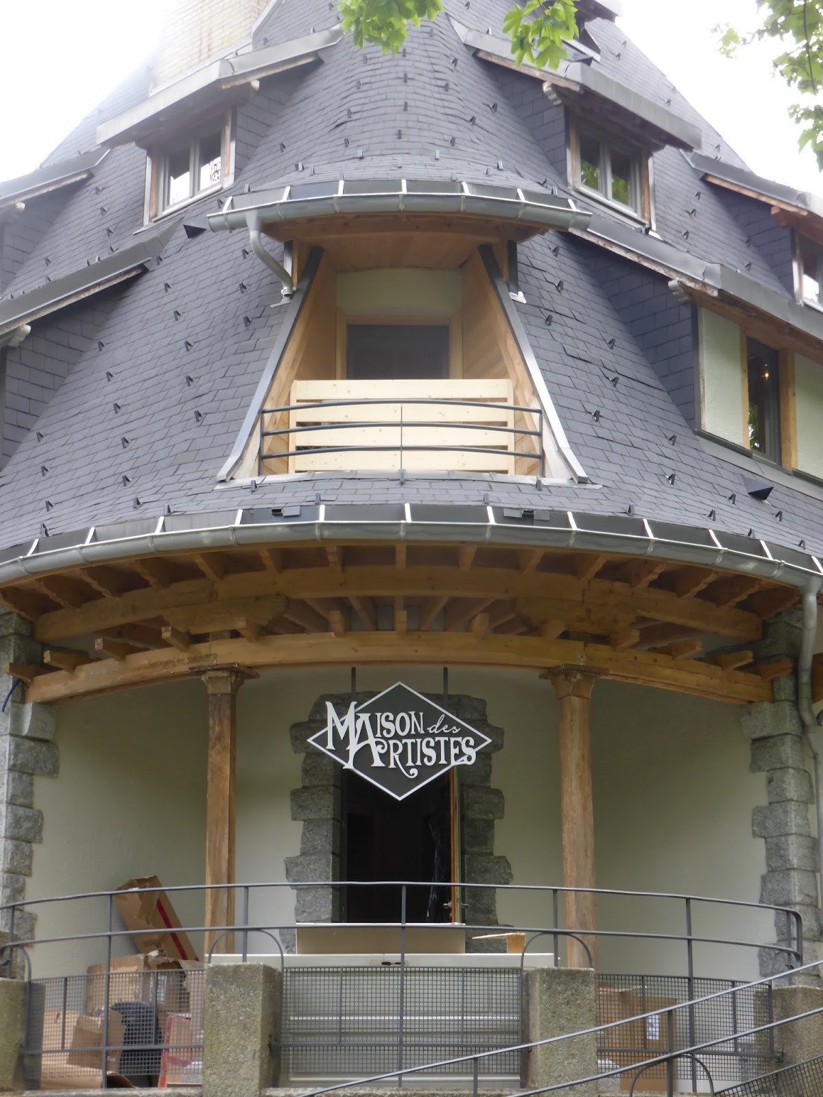 Blog d 39 eric lasserre la maison des artistes est lanc e for Affiliation maison des artistes