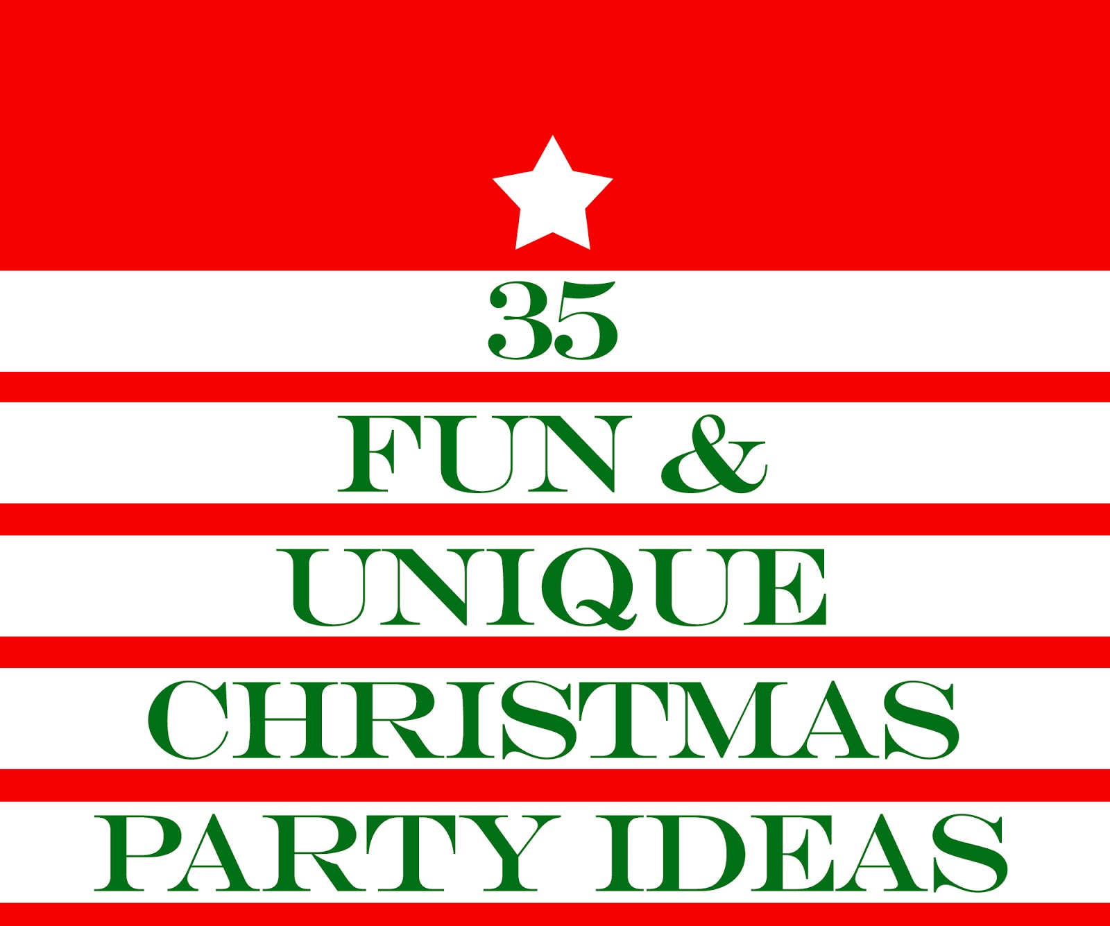 35 Fun Christmas Party Ideas Themes