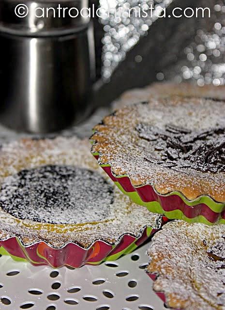 Crostatine con Crema Pasticcera al Cioccolato
