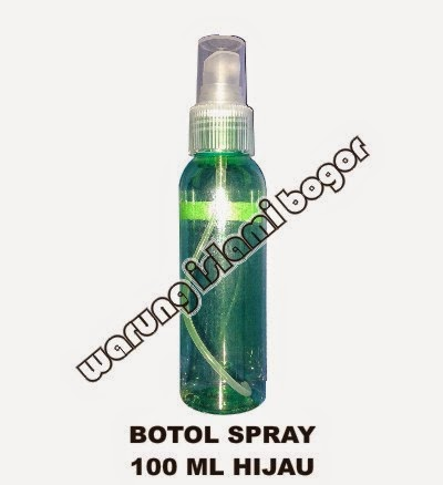 Jual Botol Spray 100ml Warna Hijau WATER KANGEN