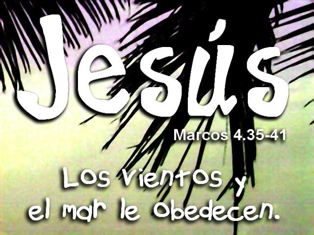 Marcos 4 35 41 evangelio en colores