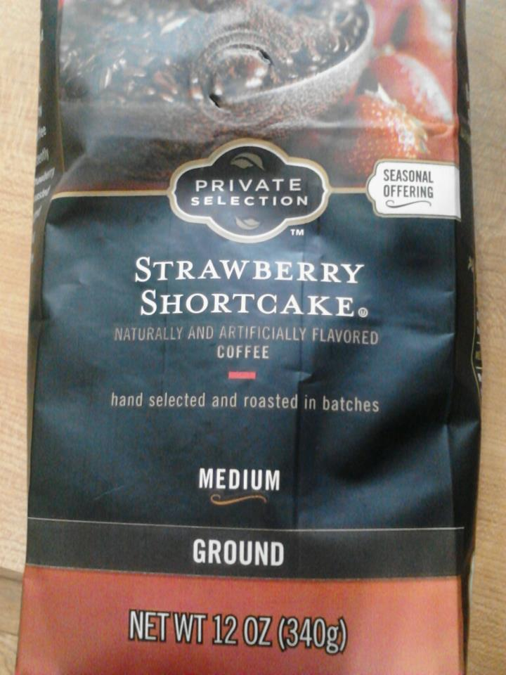 Strawberry Shortcake coffee