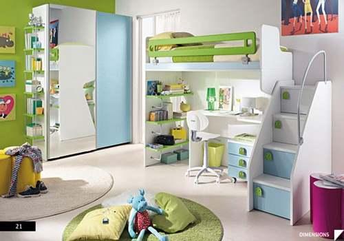 kamar tidur nyaman dengan gaya urban desain rumah