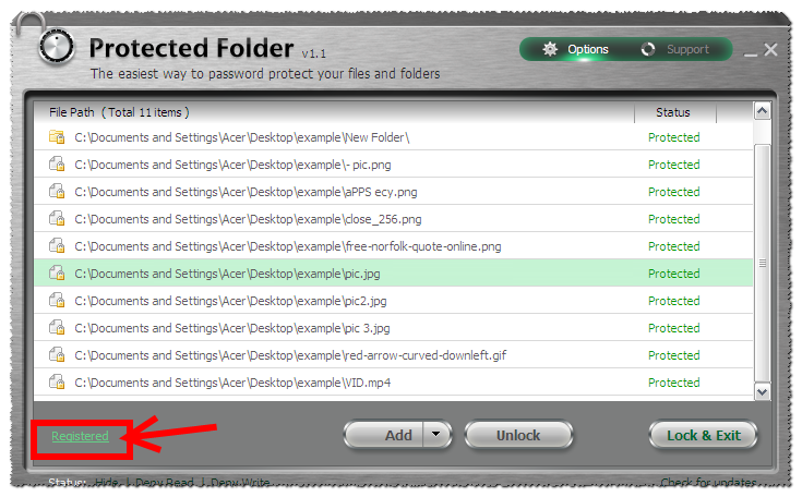 IObit Protected Folder 1.2 Serial Key Patch Full Free Download
