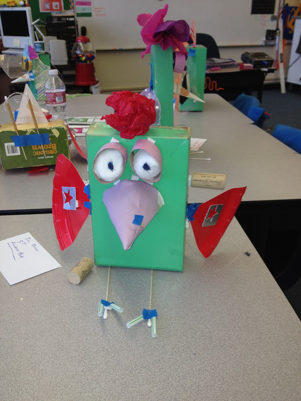 Mrs lyon 39 s blog teaching the art of possibility smart for Project using recyclable items