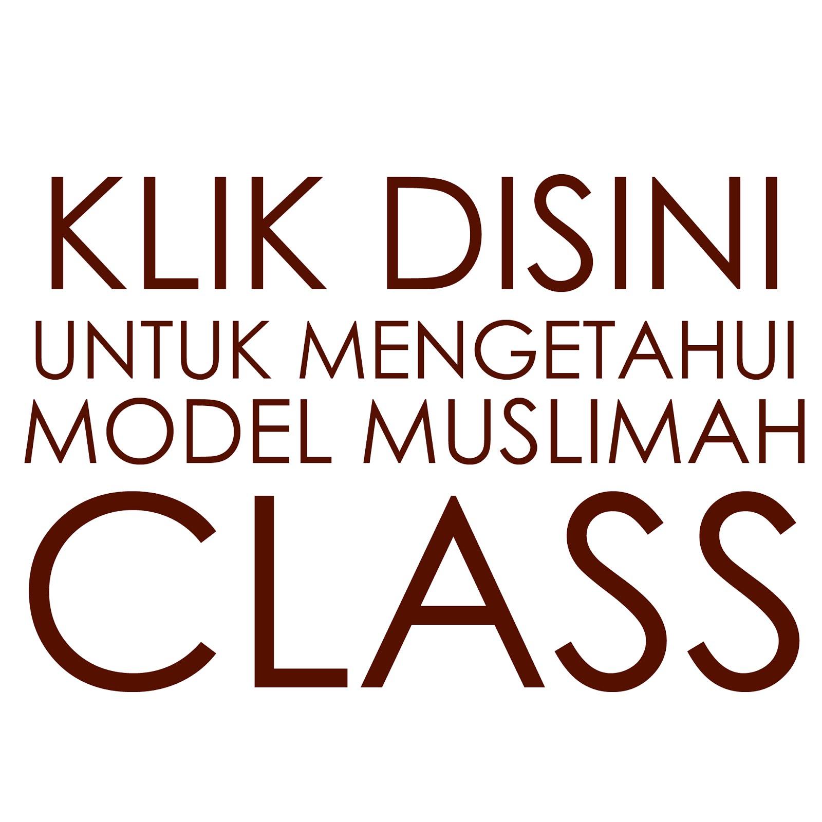 model muslimah class