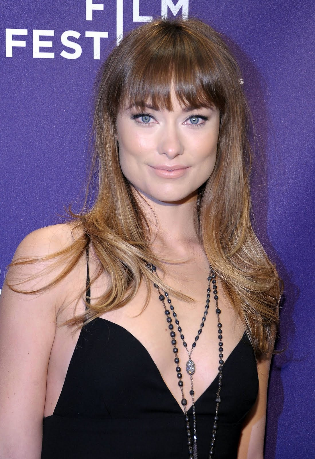 Celebrity Ombre Hairstyle - Olivia Wilde