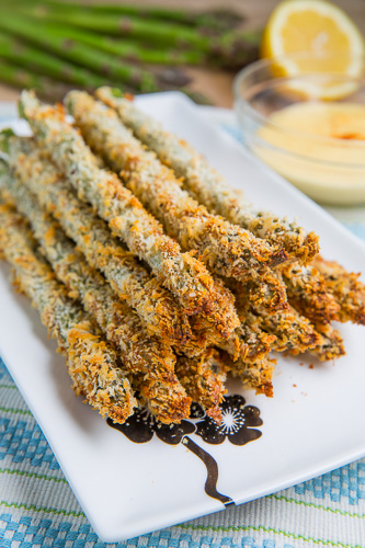Crispy Baked Asparagus Fries
