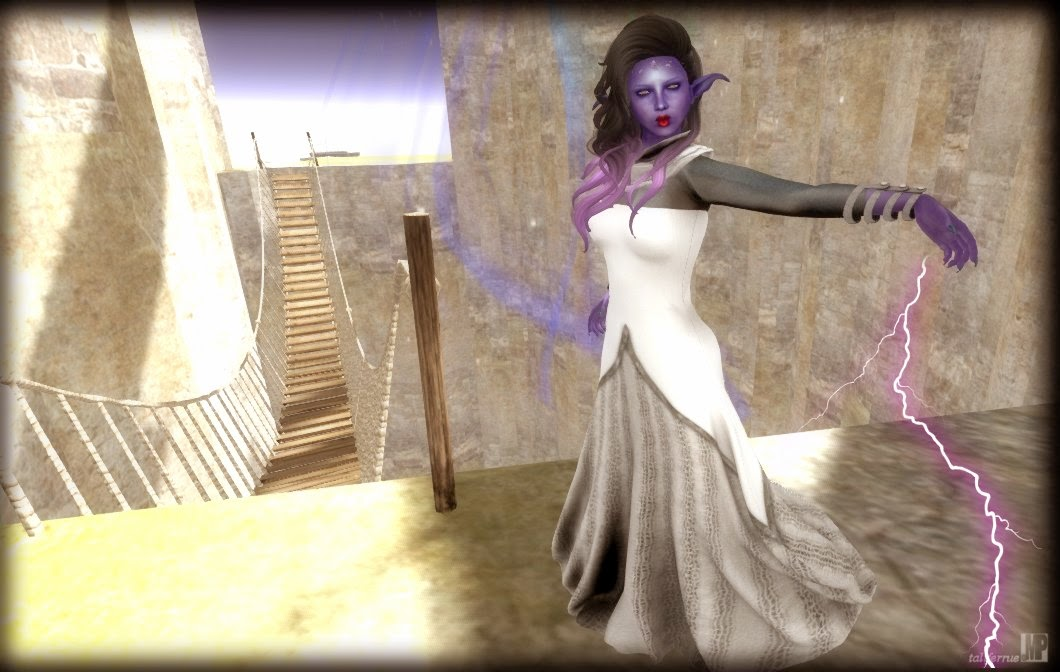 Second Life Elven Priestess Virtual Fashion Review