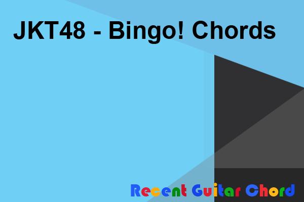 JKT48 - Bingo! Chords