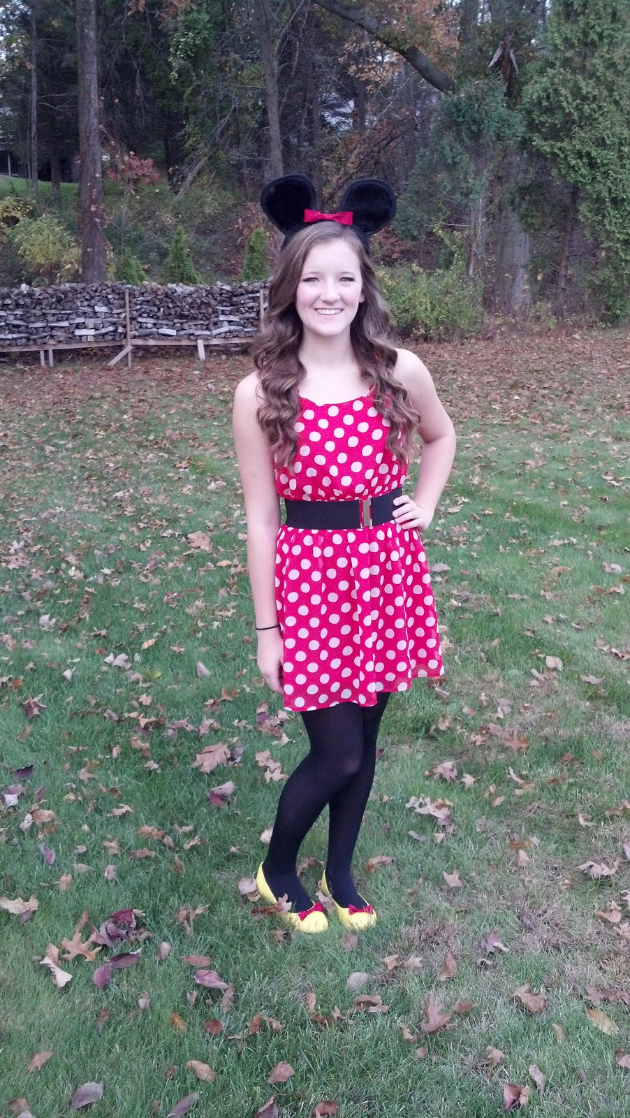 forever fashion: diy: minnie mouse halloween costume!