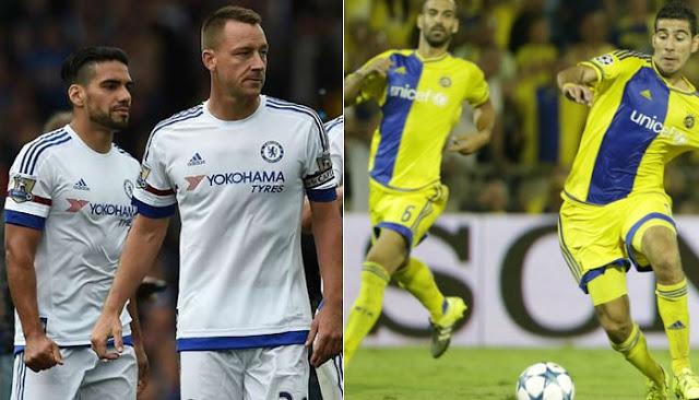 Chelsea vs Maccabi Tel Aviv en vivo