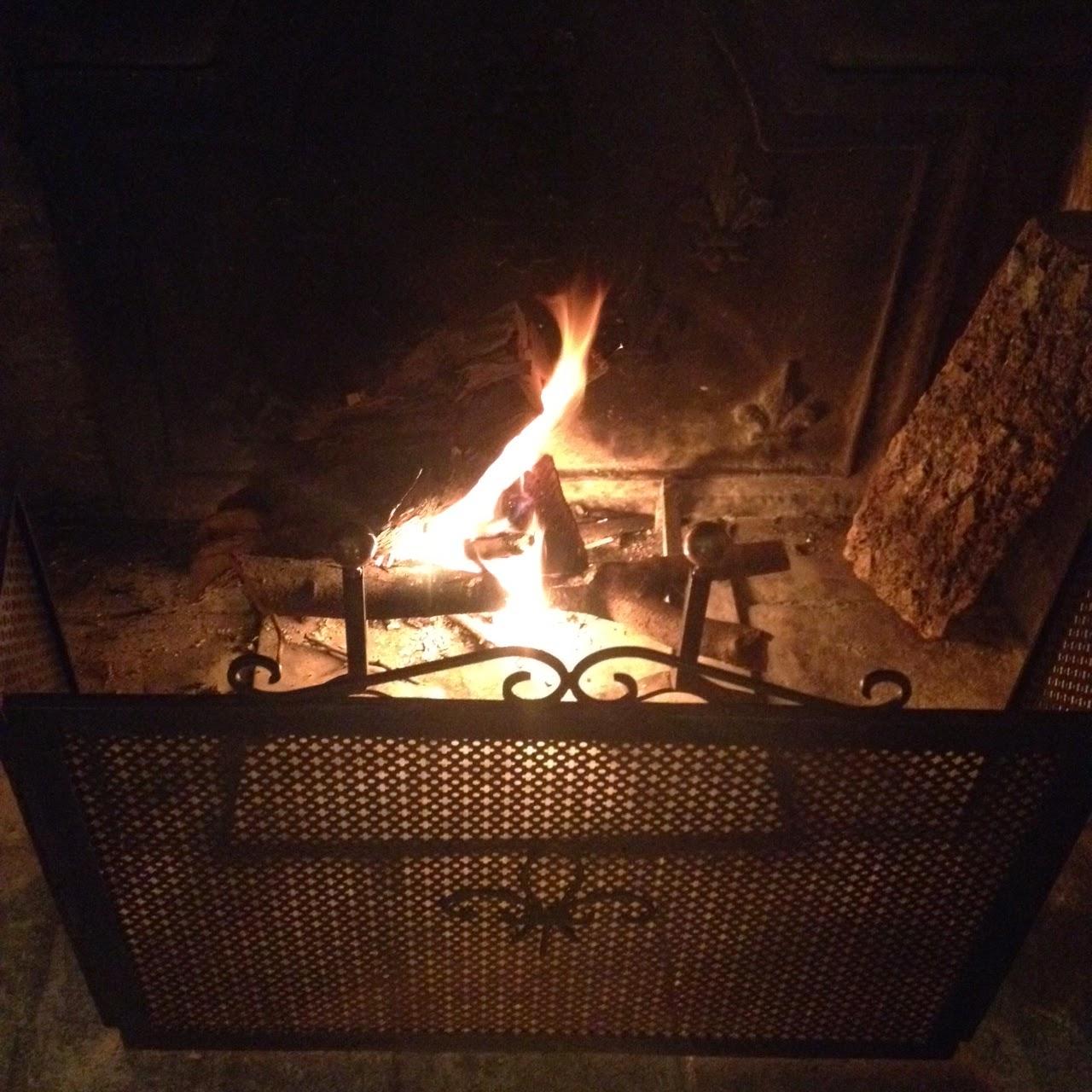 Flambée au Manoir de Beaurepaire en Normandie