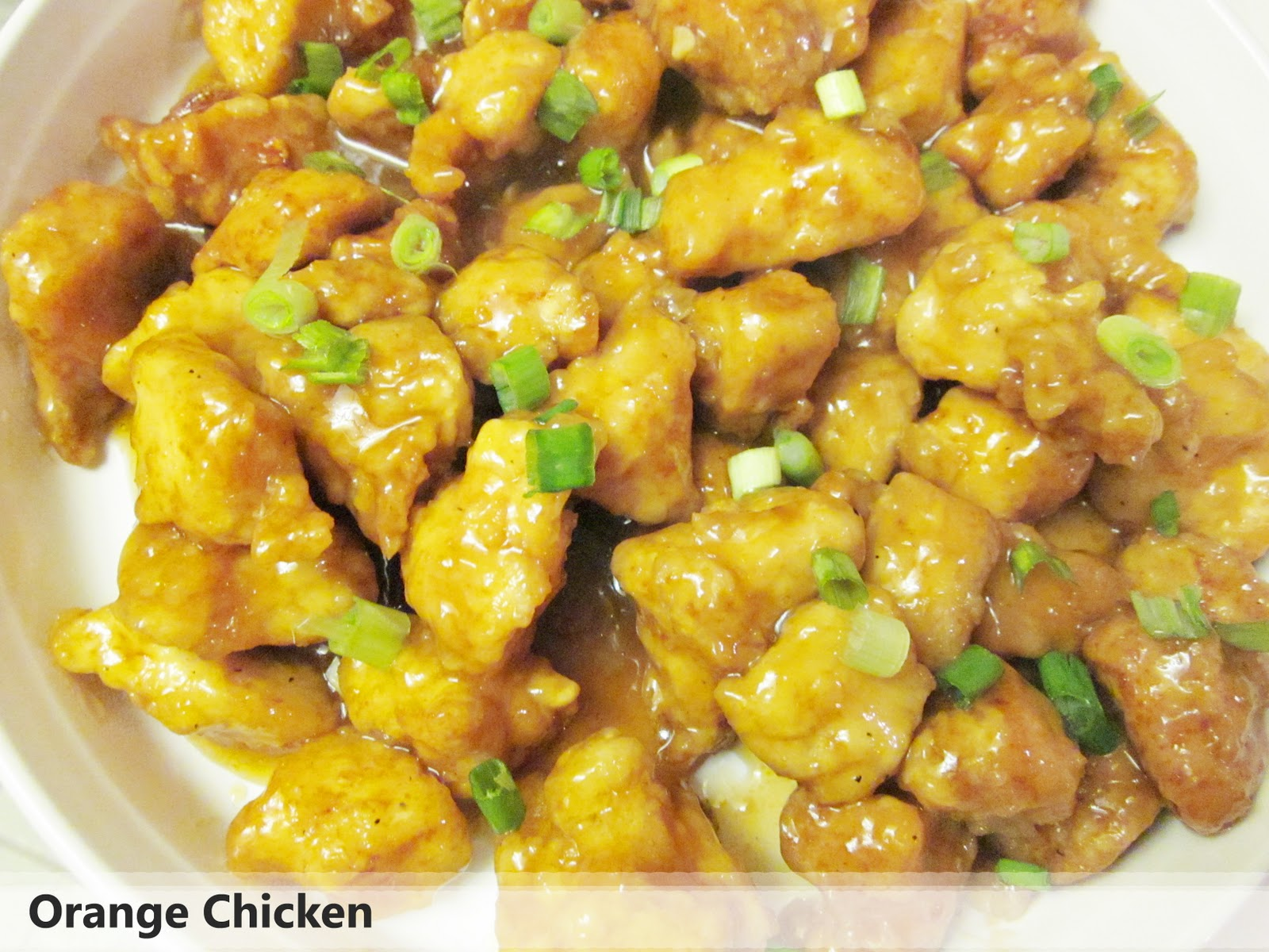 Diddles and Dumplings: Orange Chicken