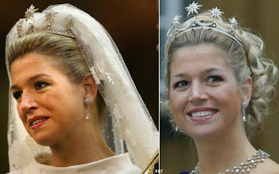 Princess Maxima's wedding tiara