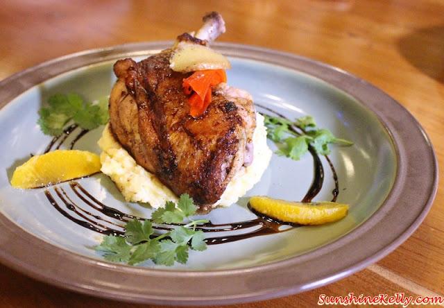 Chicken Confit, La Casa, Verve Suites, Mont Kiara,