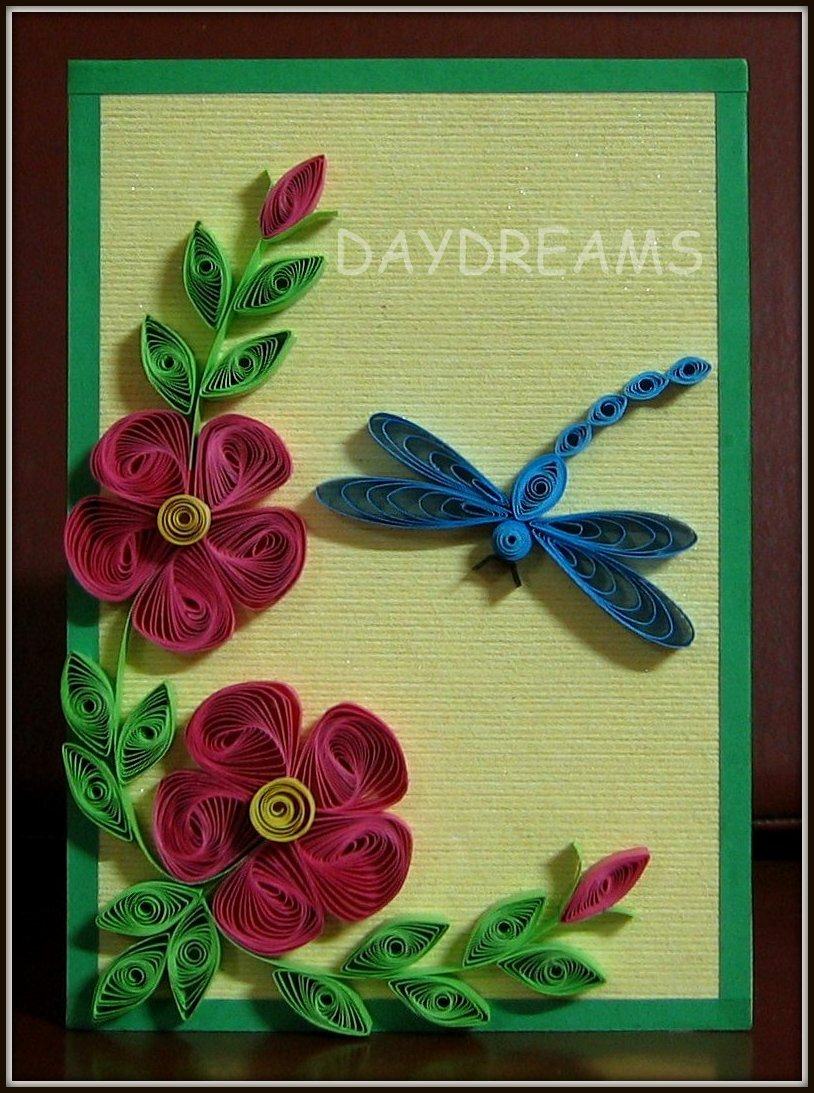 daydreams another quilling idea