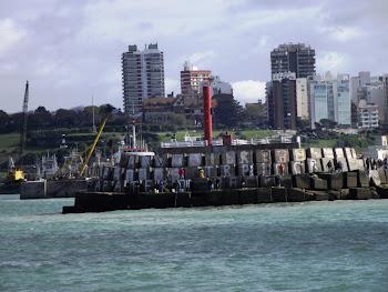 Mar del Plata muelle de pescadores
