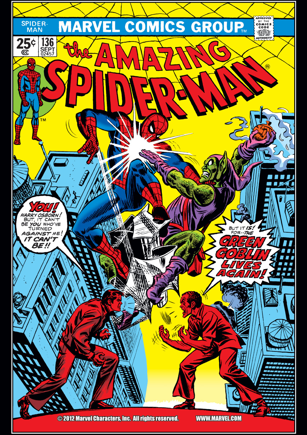 The Amazing Spider-Man (1963) 136 Page 1