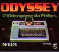 Propaganda do videogame Odyssey da Philips, anos 80. 1983.