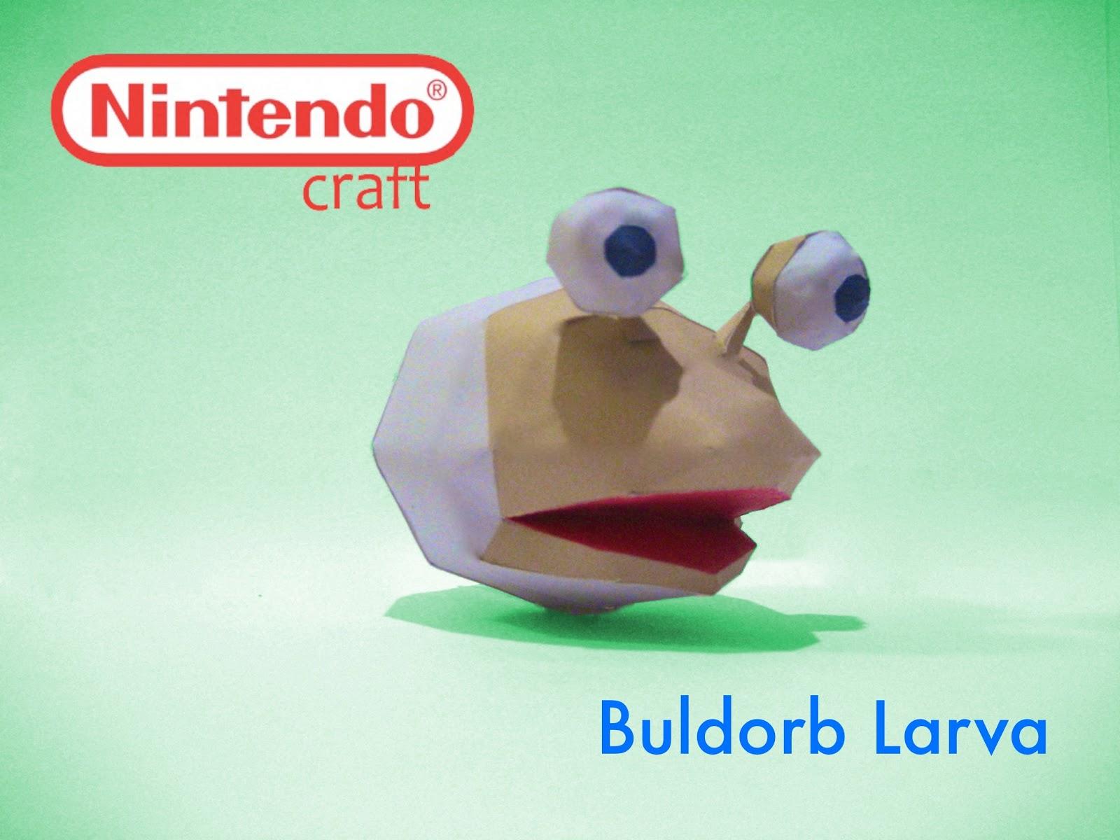Buldorb Larva Papercraft