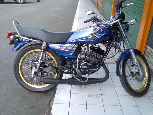 Modifikasi Motor Yamaha Rx King Cobra