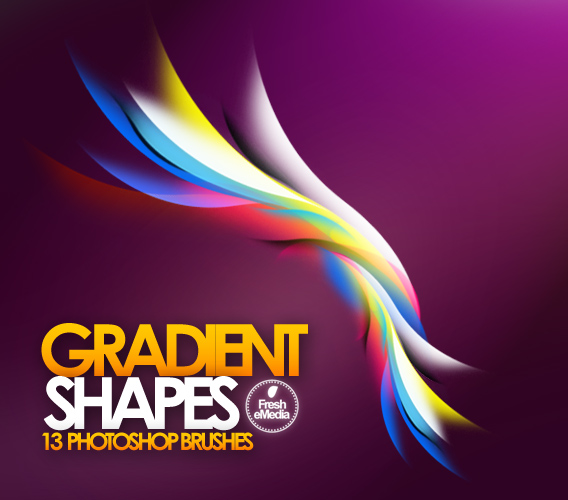 gradient shape brushes