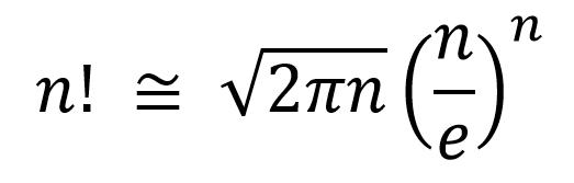 Factorial of a number using Stirling's(Gosper ...