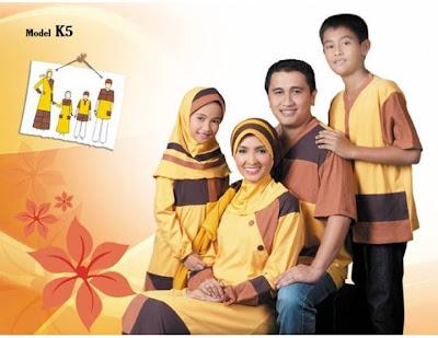 KIRGYZ SARIMBIT Koleksi Busana Muslim Keluarga Kuning