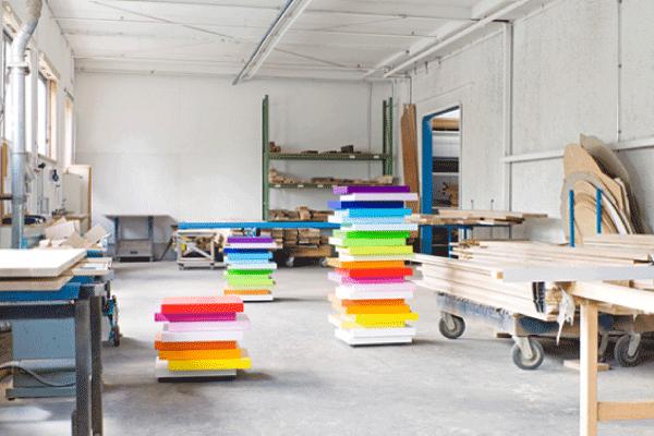 Cassettiere multicolor mille feuille blog di arredamento for Arredamento tedesco