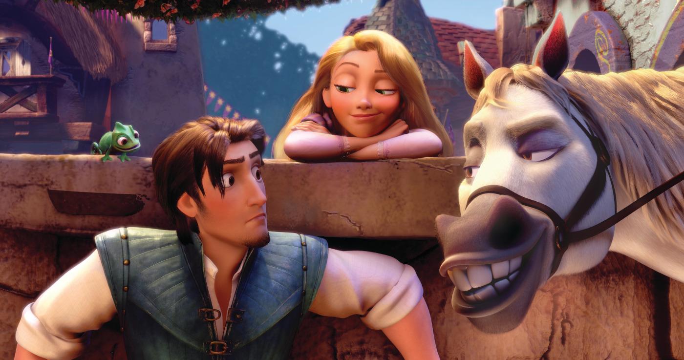 Disney Flynn Rapunzel Maximus Pascal