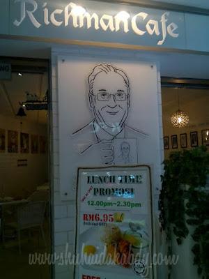 Lunch di Richman Cafe