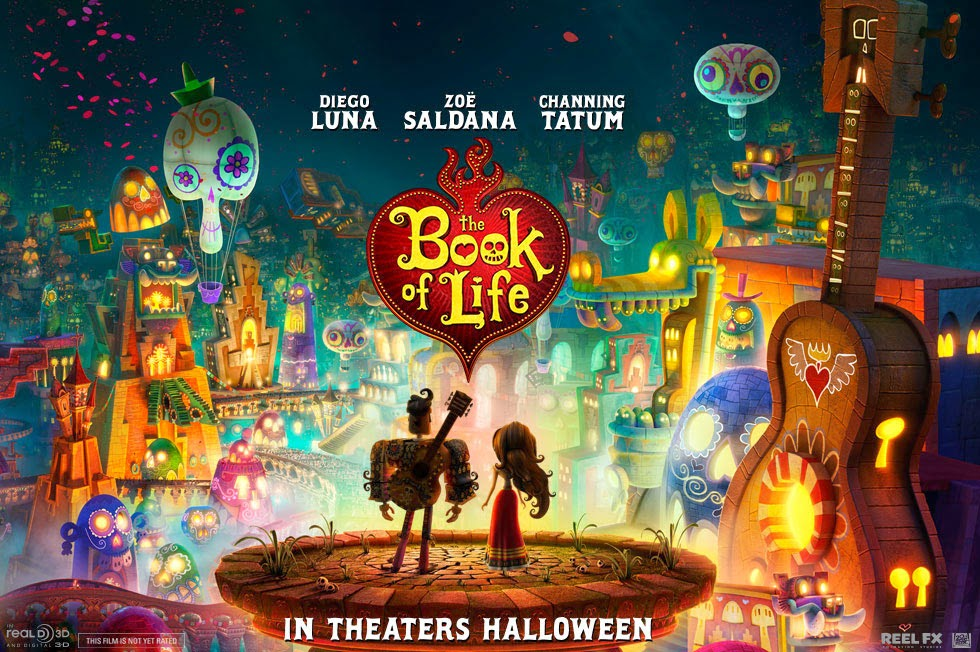 The Book of Life 2014 American Animated 3D Comedy Film