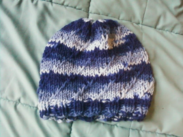 Joining Knitting In The Round Double Pointed Needles : The knitting otaku blue wave hat