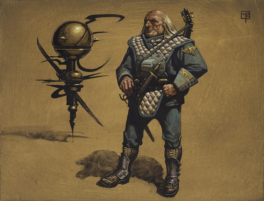 Doctor Ojiplatico. Mark Zug. Dune: Judge of the Change. collectible card game