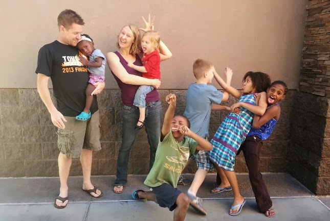 Andy, Kiara, & Family