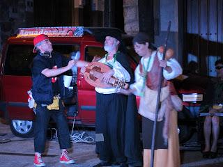 representacion teatral en herguijuela de la Sierra