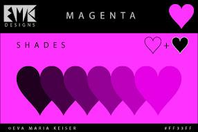 Shades of Magenta: