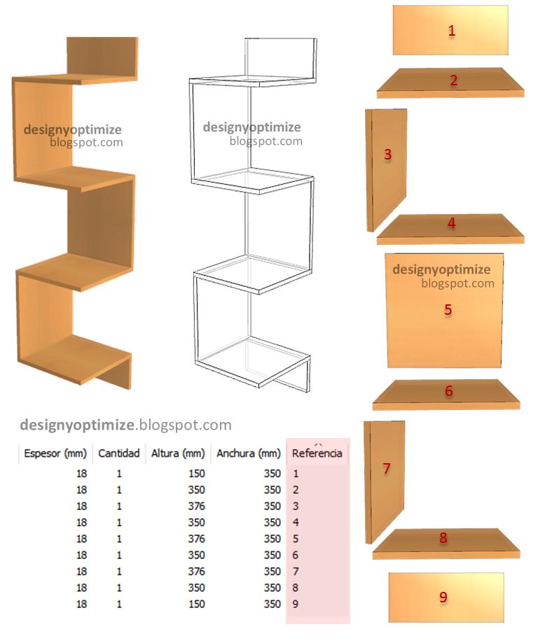 Dise o de muebles madera c mo fabricar repisa flotante en for Muebles de esquina para cocina