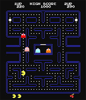 Pac Man Game Screen