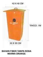 Tong sampah fiber murah