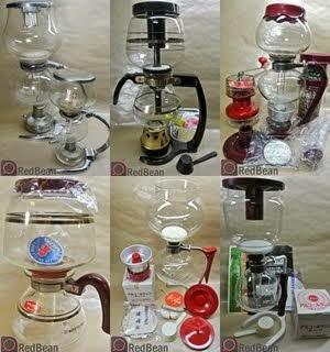 收藏珍貴的古董咖啡器材