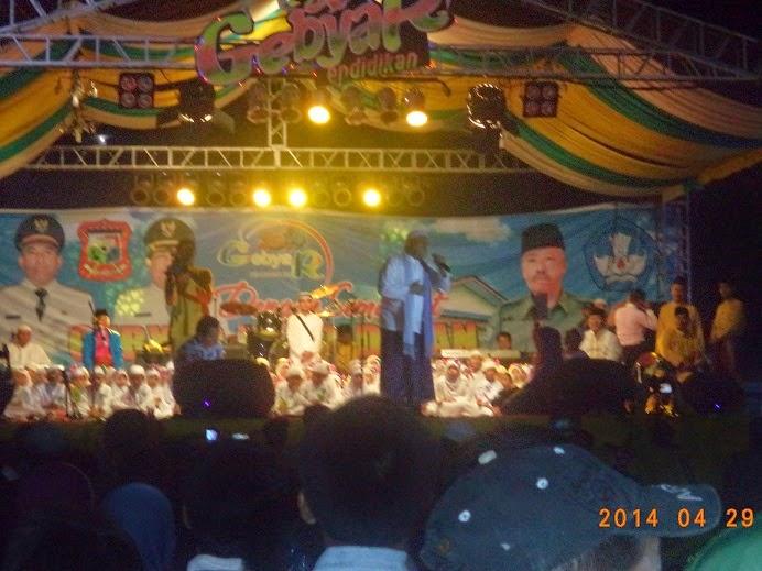 Haddad Alwi di Penutupan gebyar Pendidikan Tanjungbalai