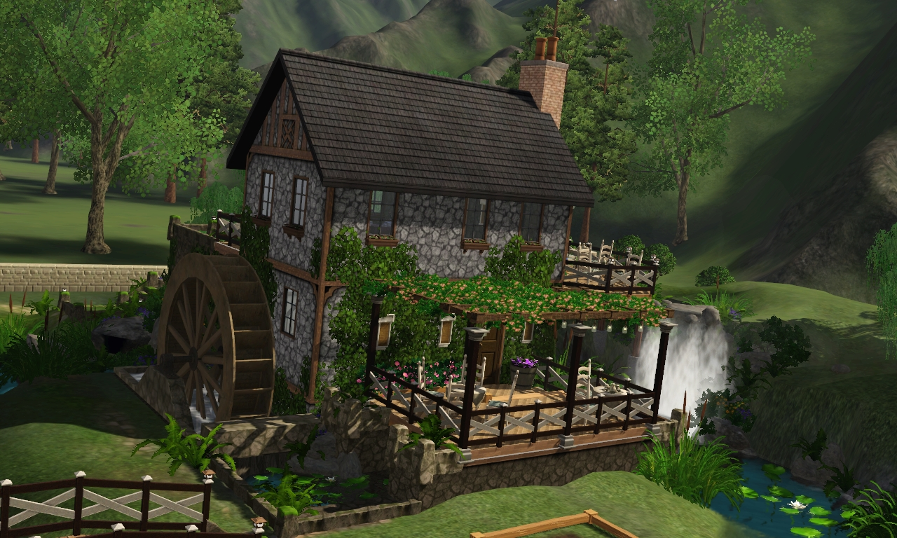 Old Mill Gm >> Tazreen's The Sims 4 Reviews: BRUNCH AT THE OLD MILL REVIEW