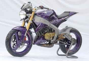 Modifikasi Motor Yamaha Rx King 2014