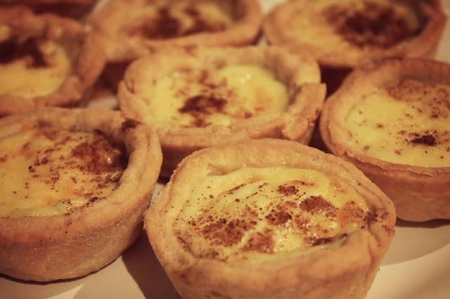 custard tarts