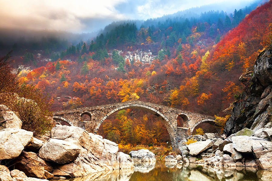 Devil's Bridge in the Rhodope Mountains, Bulgaria