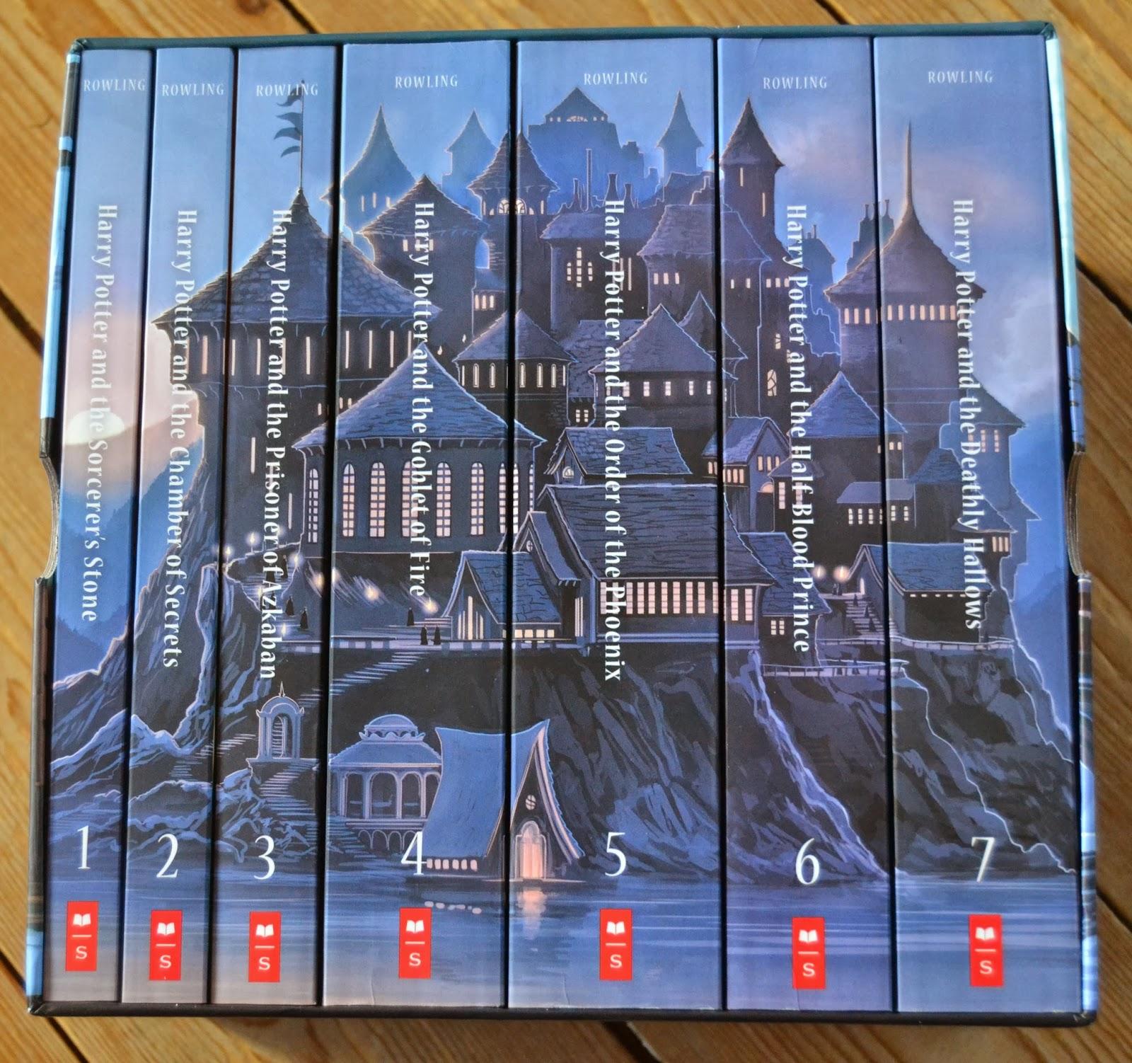 harry potter bøger dansk