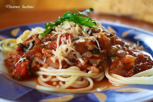 spaghetti napoli, makaron napoli,