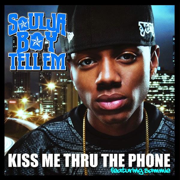 Soulja Boy Tell Em' - Kiss Me Thru The Phone (feat. Sammie) - Single Cover